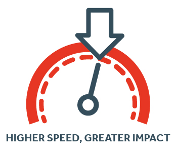 Higher Speed, Greater Impact